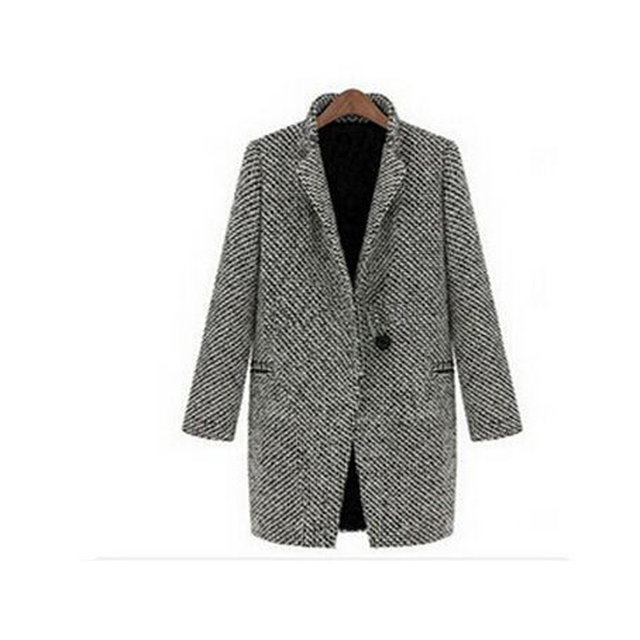 Elegant  Wool/Cotton Coat