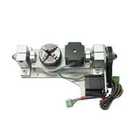 ЧПУ 4th 5th роторная ось с таблицей для ЧПУ маршрутизатор DIY ЧПУ вращение гравировальный станок запчасти