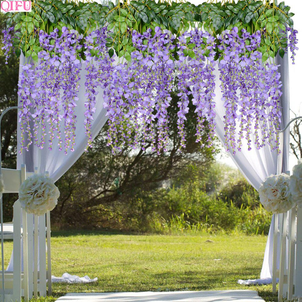 12pcs Artificial Flowers Bouquets Wedding Decoration For Outdoor Bachelorette Party Decor Home Wall Background