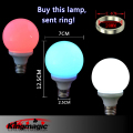 White Red Blue Color Magic Light Bulb The Magic Lamp Trick & Magnet Ring Free Shipping
