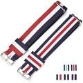 1 pcs carty 18 20mm nylon watch strap para dw relógio das mulheres dos homens do esporte da forma relógio de pulso