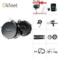 Bafang 8fun 36 v 250 w mm g340.250c bbs01 luz engrenagem sensor mid drive kit de conversão do motor central e bicicleta Motor p/ bicicleta elétrica    -