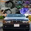 For BMW E39 540i 530i 528i 525i 523i M5 2000 2003 Post Facelift Headlight Multi Color