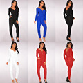2016 Aliexpress Hot Sell European and American Style Nightclub Bandage Elastic Waist Jumpsuit Foreign Trade
