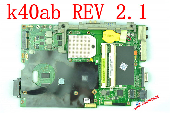 Original K40AB Laptop motherboard FOR ASUS K40AB K40AD K40AF K50AB K50AD K50AF K40IJ K5IJ MAINBOARD RVE 2.1 Fully tested 10pcs usa import tattoo thermal paper stencil carbon stuff tattoo equipment 3 layer free shipping
