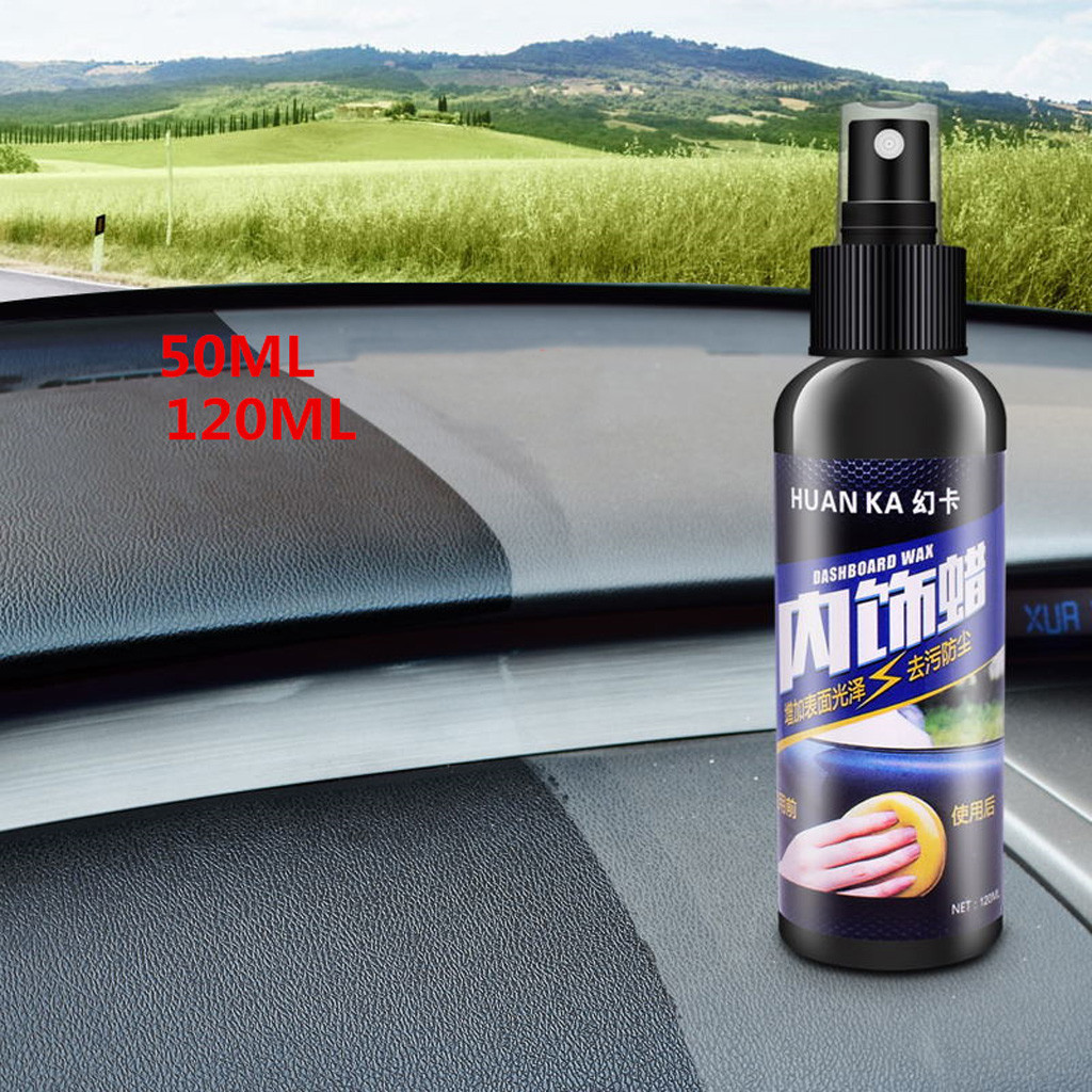 120ml Surface Polish Wax Inner Dashboard Cleaner Tire-wheel Dedicated Refurbishing Agent Cleaner Coating Polishing Protection