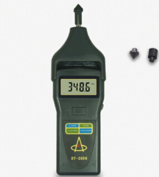 Laser Tachometer DT-2856 Portable Digital Tachometer DT2856 photo touch type tachometer dt 2856