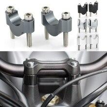 For KTM 400 EXC 450EXC/SX/XC/XC-W/XC-F 500EXC/XC XC525 28mm 1 1/8 Handlebar Riser Motorcycle Aluminum Fat Bar Mounting Risers