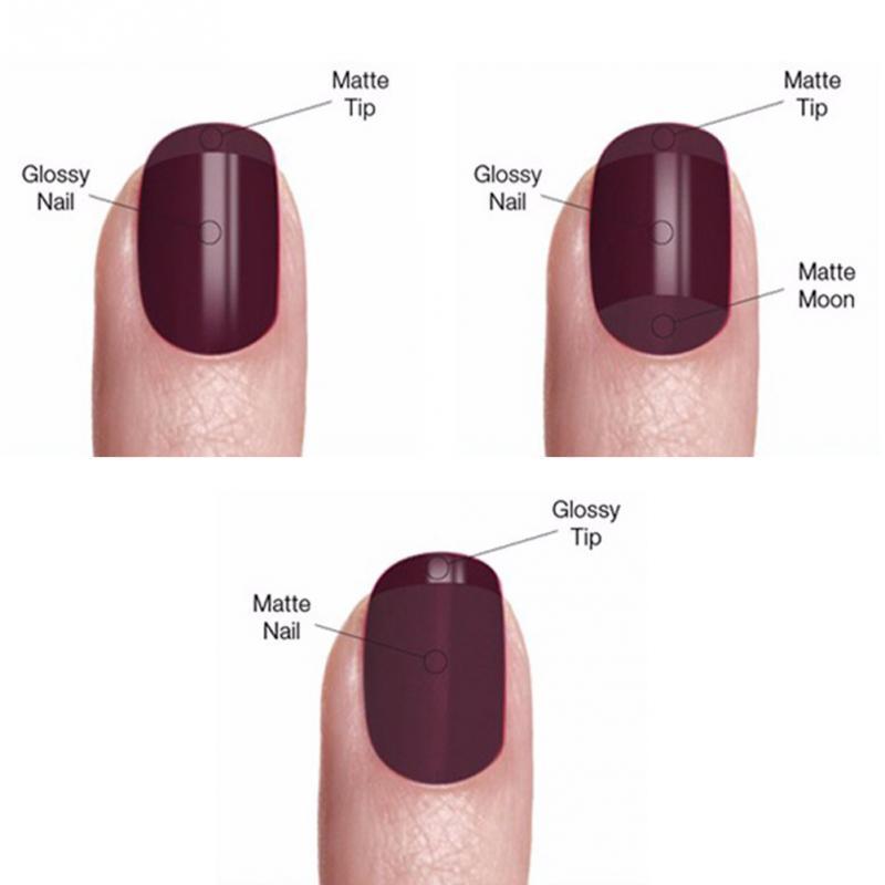 Lulaa Metallic Nail Polish Long Lasting Matte Effect Makeup