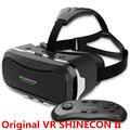 """Новый VR Shinecon Очки II 2.0 Версия VR Коробка Виртуальная Реальность 3D Очки с Оригинальным Bluetooth Геймпад для 4.3-6.0 """"телефон"""