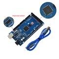Плата Usongshine для Arduino MEGA 2560 R3 AT Mega2560 R3 REV3 ATmega2560-16AU CH340G на USB-кабеле, совместимом с Arduino 2560 R3