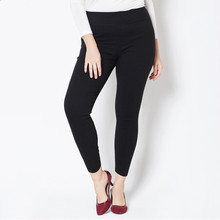 New Arrival Spring and Autumn style leggings women Denim Woven Pants plus size  XXL-5XL High Waist Candy Color women's trousers