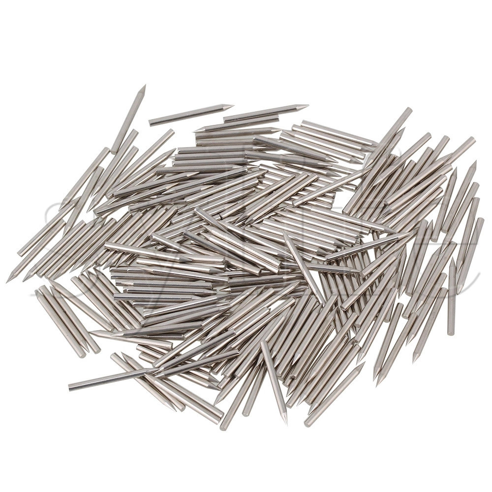 One Set 0.1.35mm Dia Stainless Steel Piano Center Repair Pins Piano Action Parts