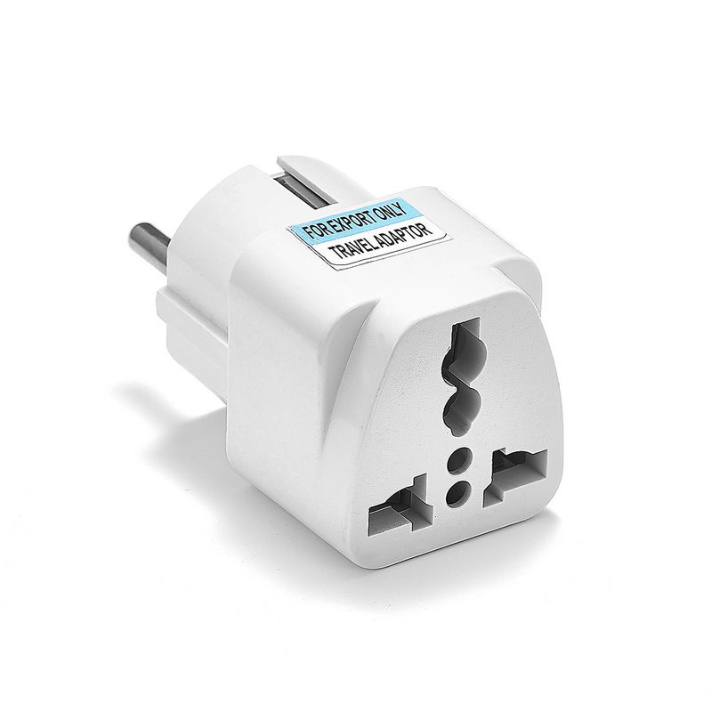Universal European Kr Eu Plug Adapter Au Uk American Us To Euro Travel Electric Charger Sockets Outlet In Electrical From