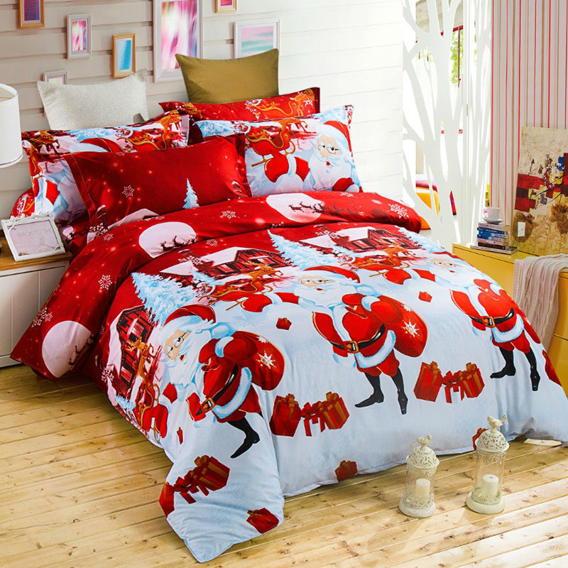 Aliexpress Com Buy Christmas Bed Linen Christmas Gift