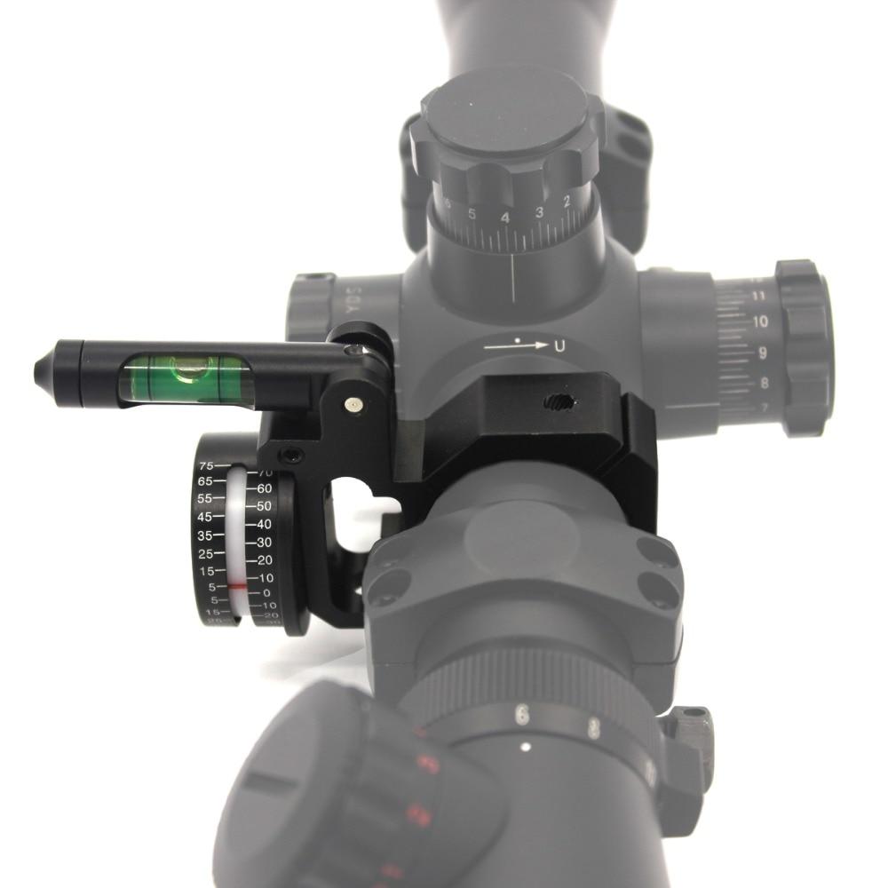 Rifle Bubble Level Räckvinkel Indikator Angle Cosine Indicator (ADI - Jakt - Foto 1