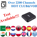 M8S Android Box + Poder Albanian GOTiT H.265 IPTV Árabe Francés Alemania Países Bajos Portugal Italiano Adultos xxx Europa IPTV Caja