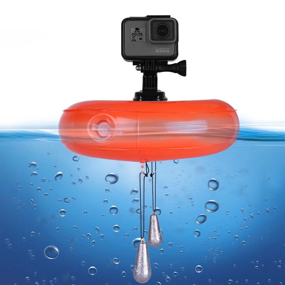 TELESIN Caméra Air Flotteur Gonflable Flottant Airbag Floaty Plate-Forme Dynamique Pad pour GoPro Hero 6 5 4 3 Xiaomi YI 4 K SJCAM EKEN
