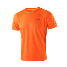 Summer Men's Running T Shirts Active Short Sleeves Quick Dry Training Gym Crossfit  Fitness