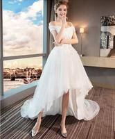 Travelling photography Evening Dress long pink floral prom dresses robe de mariee long train dress for wedding vestido de noiva