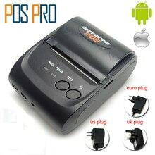IMP006 Бесплатная SDK 58 мм ручной pos-принтера Android IOS Bluetooth4.0 термопринтер чеков мини переносной мобильный принтер