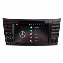 7″ Android 5.1 OS Special Car DVD for Mercedes-Benz G-W463 2001-2008 & CLK-W209 2006 & CLS-W219 2005-2006 & E-W211 2002-2008