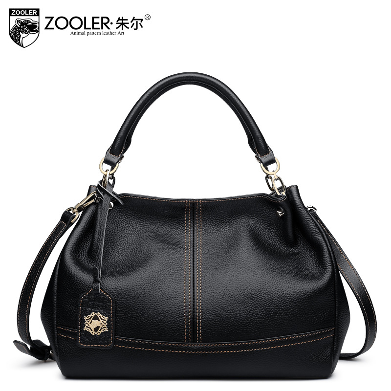 ZOOLER Designer Handbags High Quality Shoulder Bag Lady 2017 New Winter Fashion Genuine Leather Handbag Women Messenger Bags Sac women genuine leather handbag fashion trend shoulder bag office lady tot high quality designer luxury brand boston crossbody bag