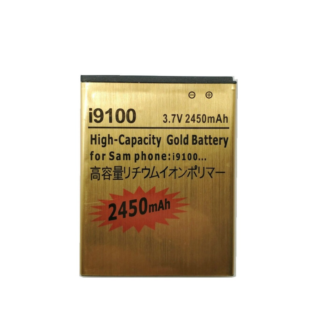 2019 New Gold Replacement Battery EB-F1A2GBU for Galaxy S2 9062/ i847/ <font><b>i9100</b></font>/ i9101/ i9105/ i9050/ i9188 Phone image