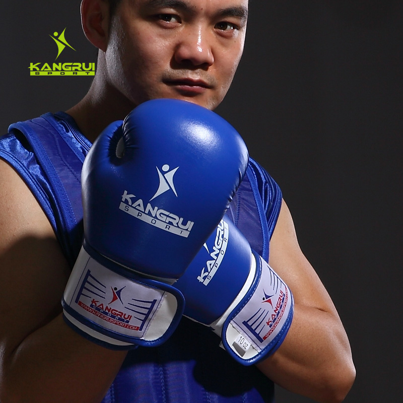 ดราม่า 10 Fight 10: 10ozHigh Quality Microfiber Leather Boxing Gloves Fighting