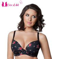 2 Color Plus Size Bra Lace Sexy And Comfortable Women Underwear 30 46 C D DD