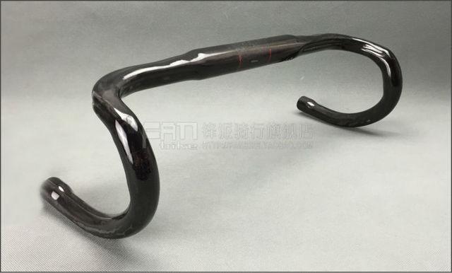 Guidon de route en fibre de carbone de haute qualité style RXL diamètre de la barre pliée 31.8*400/420/440mm