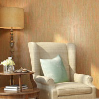 Cheng Shuo plain bamboo woven wallpaper dining room bedroom seamless background color straw wallpaper