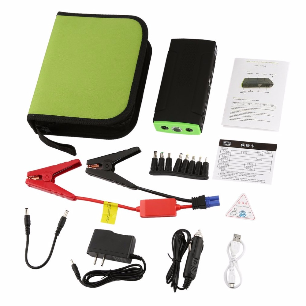 BLY-17 Multifunctional 68800mAh Portable Vehicle Power Auto Emergency Car Jump Starter Mini Engine Booster Power Bank for Car стоимость