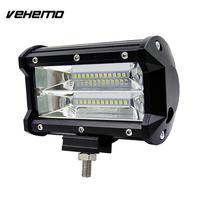Vehemo 5 Inches 72W LED Spotlight Worklight Driving Light Roof Lamp Car Offroad