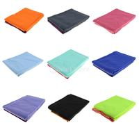 Sports Non Slip Travel Yoga Towel Ultra Absorbent Fast Dry Yoga Mat Workout Large Size