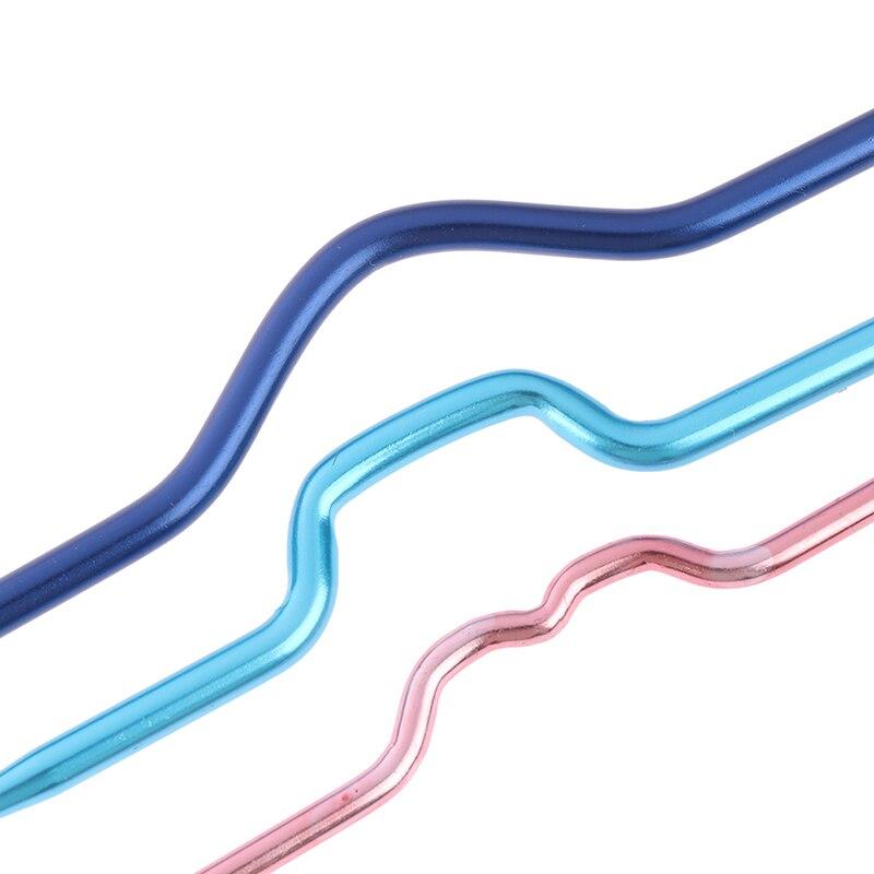 3 шт., инструмент для рукоделия, спицы для вязания, шпильки, крючки для вязания, спицы, инструменты для вязания, алюминиевые спицы для рукоделия, изогнутые спицы