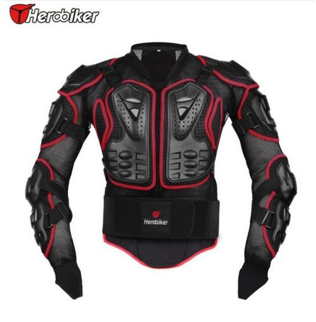 Herobiker Motocross Racing Body Armor protection of M 3XL motorcycle safety equipment
