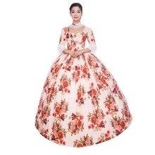 Готическое платье принцессы в стиле Лолиты; платье принцессы в стиле ренессанса Марии Антуанетты; бальное платье; одежда для восстановления; театральные костюмы
