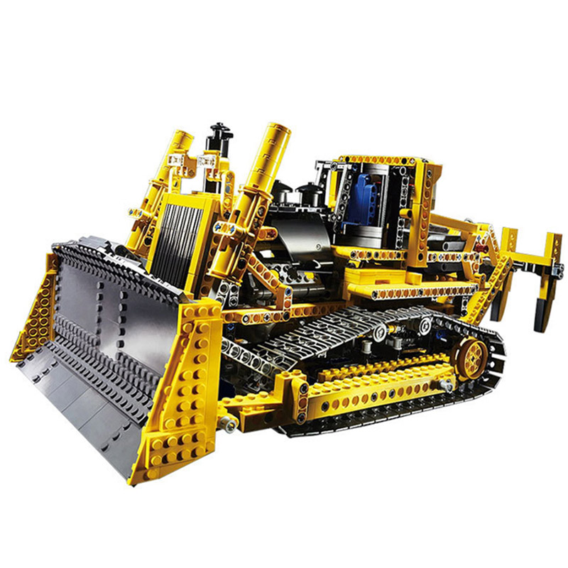 Technic Series 1384pcs The Bulldozer Model Building blocks Bricks kits Compatible With Legoings Technic 8275 doinbby store 21004 1158pcs with original box technic series f40 sports car model building blocks bricks 10248 children toys