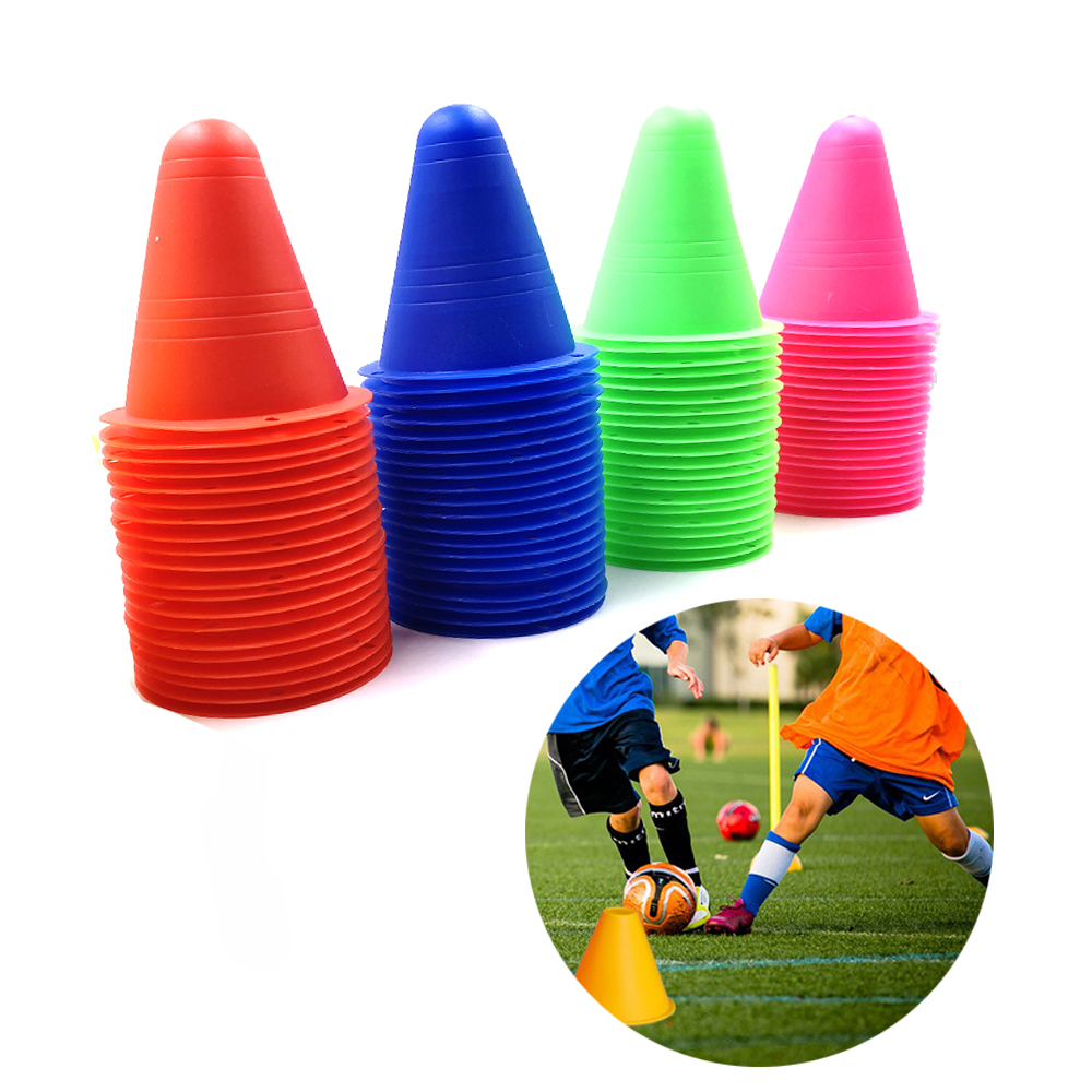 5Pcs/Set Inline Skating Skateboard Mark Cup Soccer Rugby Speed Training Equipment Marker Cones Slalom Roller Skate Pile Cup