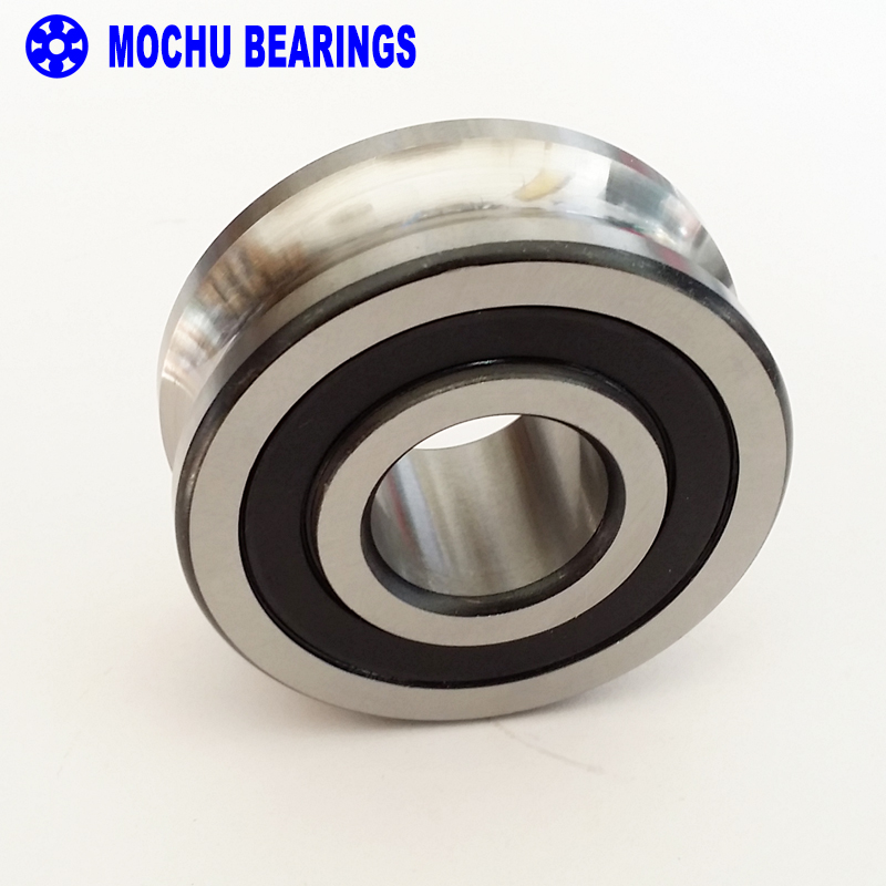 1PCS LFR5204-16NPP LFR 5204-16 NPP Track rollers double row angular contact ball bearings Gothic arch raceway groove lfr5206 20 npp groove track roller bearings lfr5206 size 25 72 25 8mm