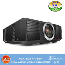 DH-8801 3LCD Engineering Projector 3D 10000lms Full HD Highlight Proyector Motorized LED Lamp Built in speaker Beamer