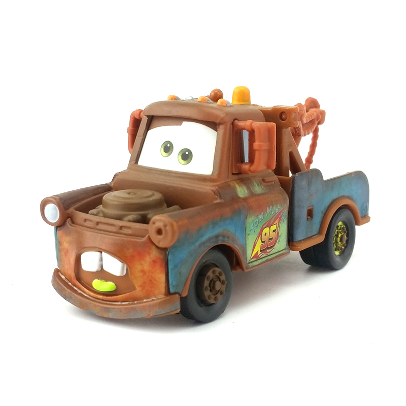 Disney Pixar Cars Wasabi Mater Metal Diecast Toy Car 1:55