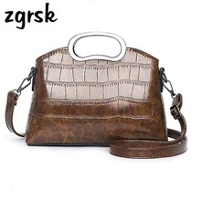 цены на Brand Small Shoulder Bag For Women Messenger Bags Ladies Retro PU Leather Handbag Purse With Female Crossbody Bag Clutch Sac в интернет-магазинах