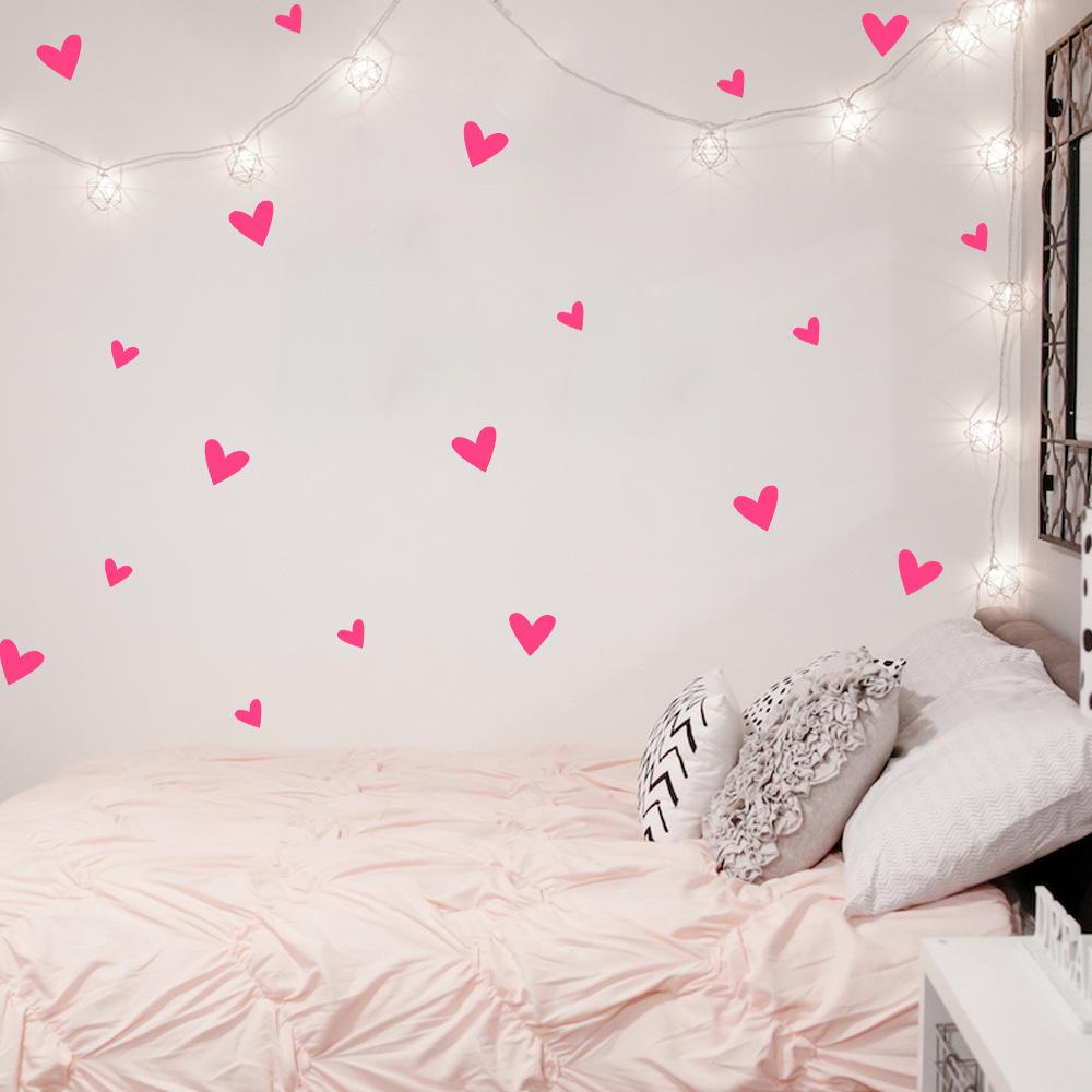 HTB1 TVOQXXXXXXTapXXq6xXFXXXq - Love Heart Wall Decal For Kids Room