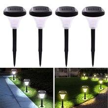 Güneş zemin ışıkları açık bahçe yolu peyzaj Driveway çim lambası yeraltı aydınlatma parlak su geçirmez ışık