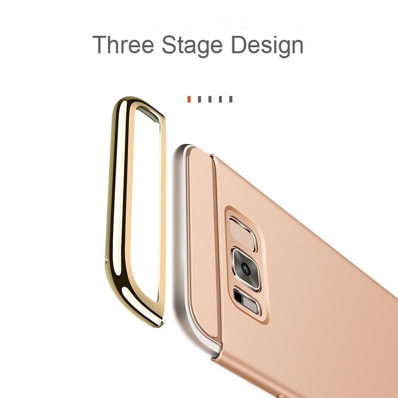 För Samsung Galaxy S8 Fodral för Samsung S8 Plus Fodral 3in1 - Reservdelar och tillbehör för mobiltelefoner - Foto 3