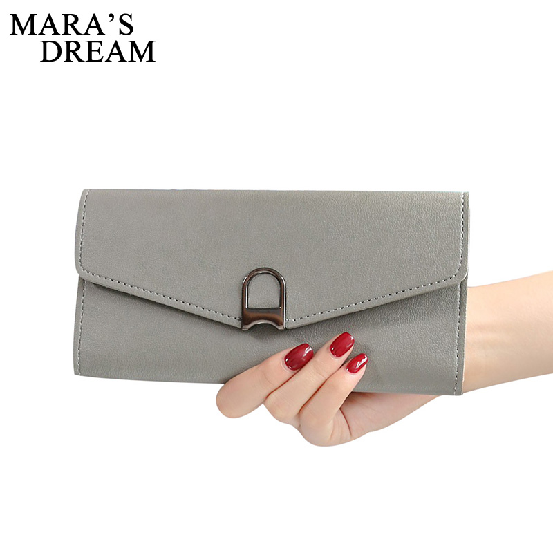 Mara's Dream Fashion Hasp Women Wallets Purse Female Purses Women's PU Leather Wallet Ladies Clutch Phone Bag Carteira Money Bag