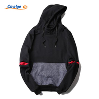 Covrlge Hoodies Men Hooded Sweatshirt Patchwork Men's Sportswear Sportsman Wear Hip Hop Male Sportssuits Brand Clothing MWW029