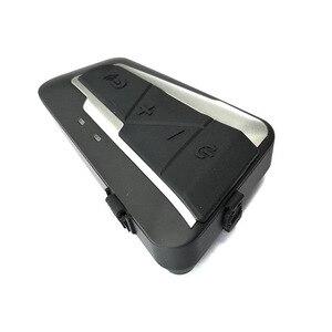 Image 4 - Fones de ouvido sem fios para motocicleta, mais novos intercomunicadores com bluetooth, 1200m bt, à prova d água, rádio fm, para 2 pilotos